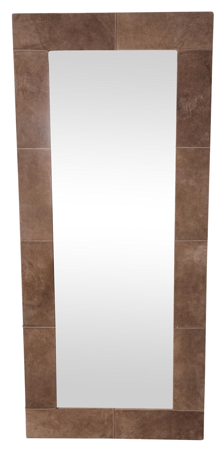 PTMD Spiegel 'Lynne' Leder, 160 x 58cm
