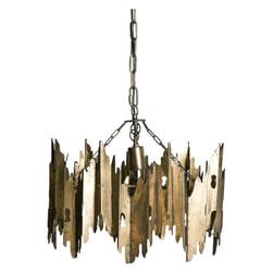 PTMD Hanglamp 'Krister' Rond, 47 cm, kleur Goud