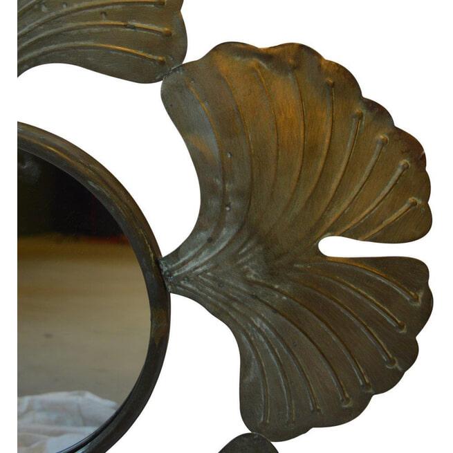 PTMD Spiegel 'Famme', Metaal, 70cm, kleur Champagne
