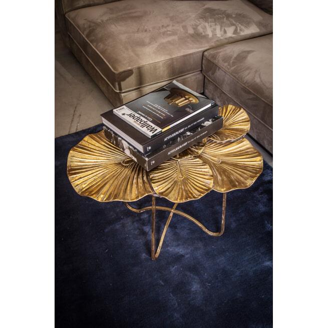 PTMD Koffietafel 'Venia', IJzer, 74 x 63 x 50cm, kleur Goud