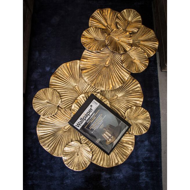 PTMD Koffietafel 'Venia', 91 x 45cm, kleur Goud