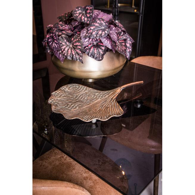 PTMD Schaal 'Vincy', 49.5 x 36.5 x 5.5cm, kleur Goud