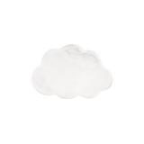 Kayoom Vloerkleed 'Wolkje' kleur Wit, 60 x 90cm