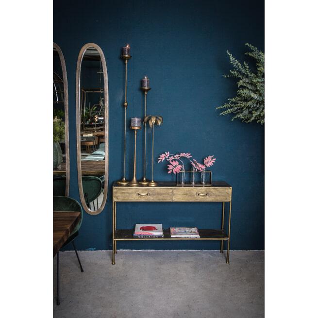 PTMD Kandelaar 'Ashley', Metaal, 127 x 16cm, kleur Goud