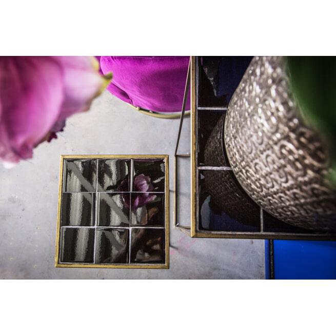 PTMD Plantentafel 'Micha', set van 2, kleur Zwart