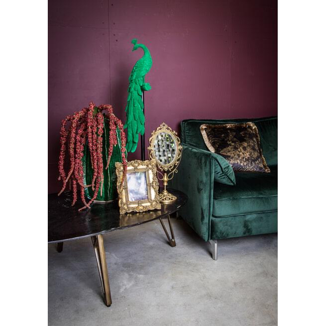 PTMD Spiegel 'Lenny', IJzer, 44 x 13.5 x 21cm, kleur Goud