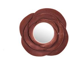 PTMD Spiegel 'Look', Velvet, 19cm, kleur Rood