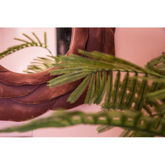 PTMD Spiegel 'Look', Velvet, 41cm, kleur Roze