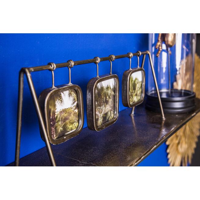 PTMD Fotolijst 'Jins', IJzer, 16.5 x 10 x 39cm, kleur Goud