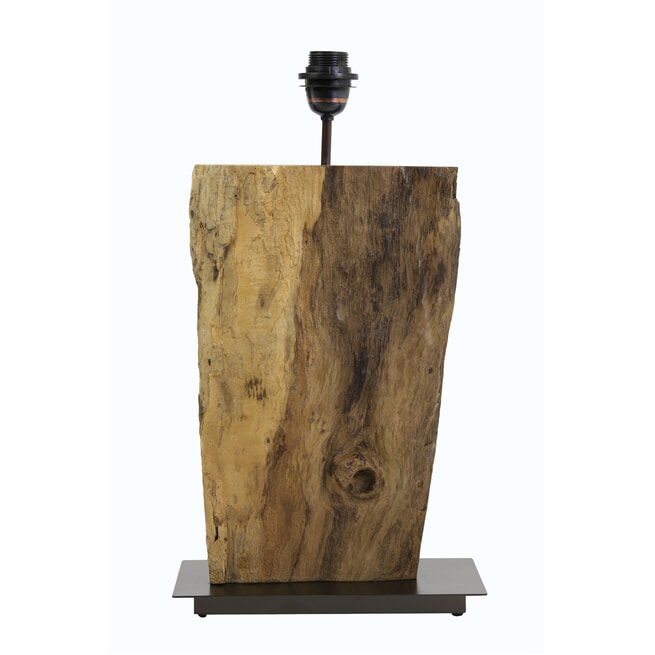 Light & Living Tafellamp 'Rory', hout naturel
