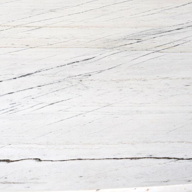 Richmond Ovale Eettafel 'Lexington' 230 x 115cm, Marmer en staal