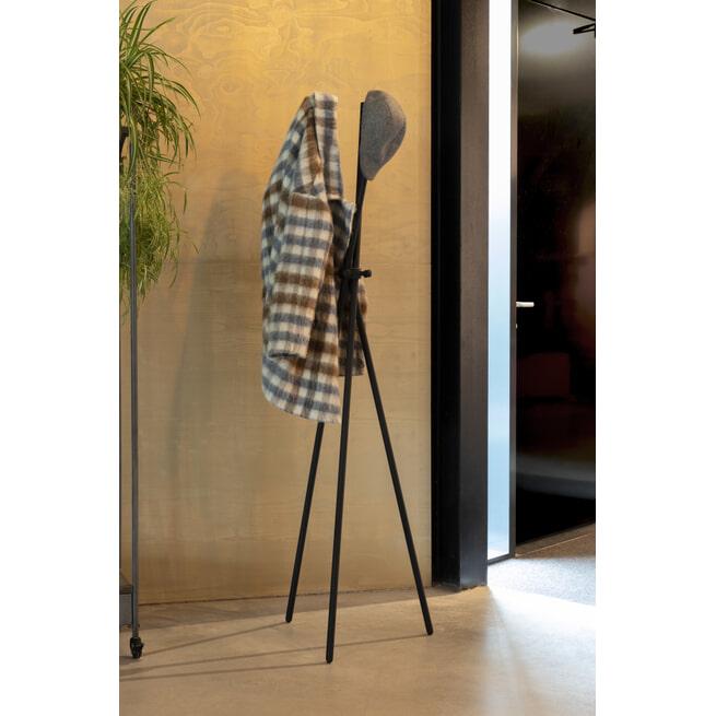 ZILT Kapstok 'Darwin, 174cm, kleur Zwart