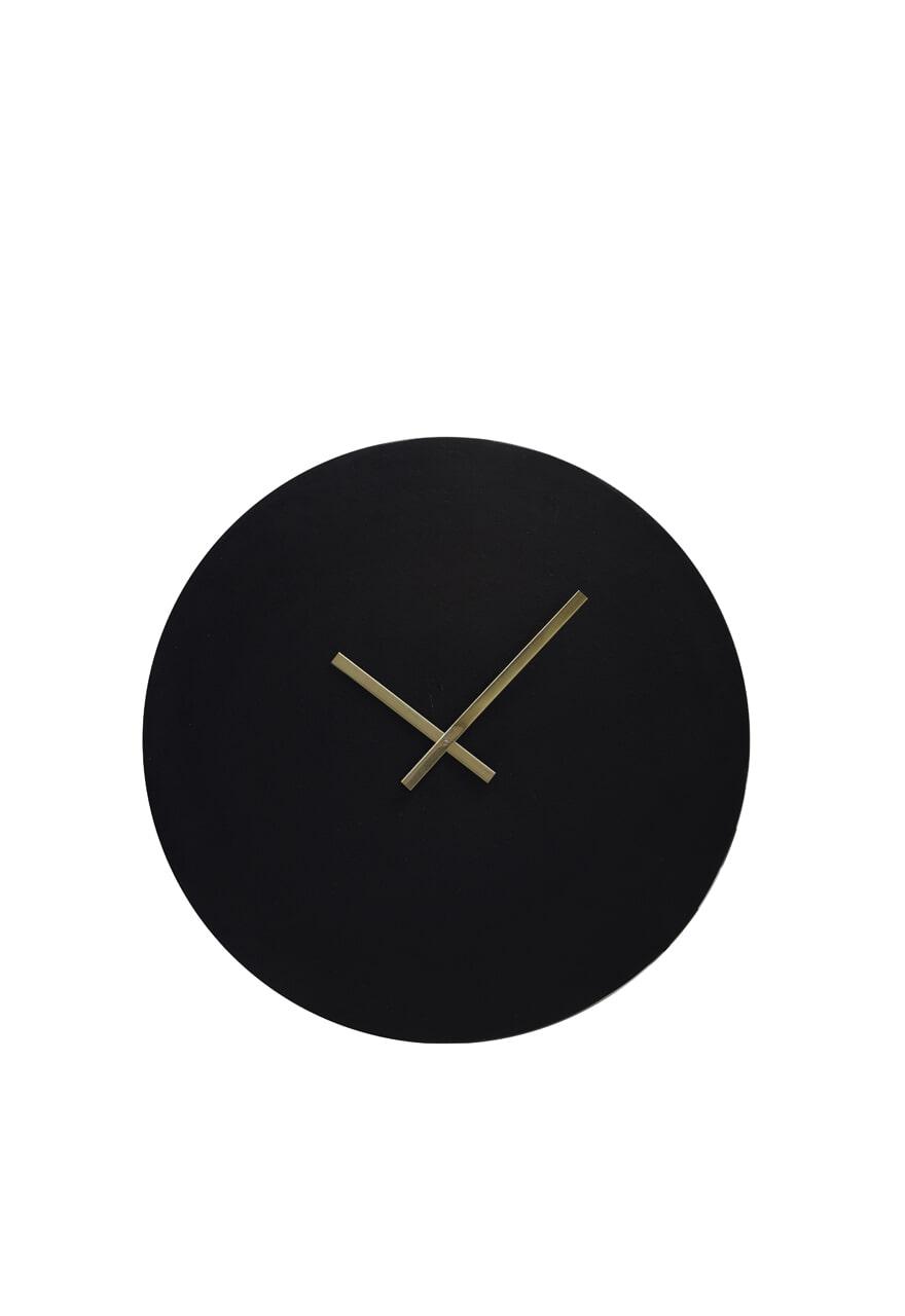 Light & Living Klok 'Licola' 59cm, kleur Zwart
