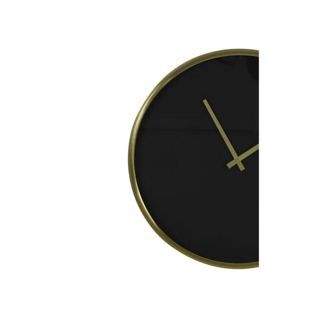 Light & Living Klok 'Seponi' kleur Zwart/Goud