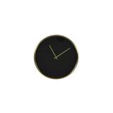 Light & Living Klok 'Seponi' 41cm, kleur Zwart/Goud