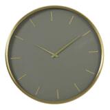 Light & Living Klok 'Timora' Ø51cm, kleur Groen