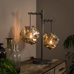 Lifestyle Furn Tafellamp 'Rock' 2-lamps