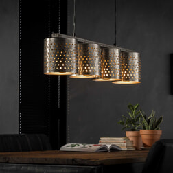 Hanglamp 'Damian' 4-lamps