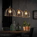 Hanglamp 'Joost' 3-lamps, Ø30cm