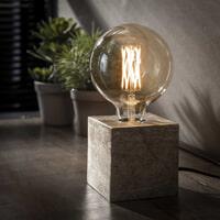 Tafellamp 'Jada', kleur Antiek Nikkel