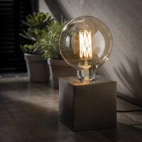 Tafellamp 'Jada', kleur Zwart Nikkel