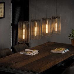 Hanglamp 'Sean' Ø17cm, 4-lamps