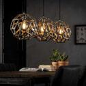 Hanglamp 'Lydia' 3-lamps Ø29cm