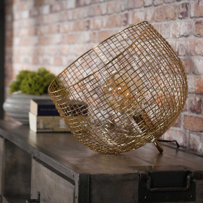 Tafellamp 'Andrea' kleur goud
