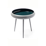 Kayoom Bijzettafel 'Kust' kleur Grijs / Turquoise, 39cm