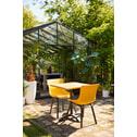 Hartman Outdoor Bistrotafel 70 x 70cm, inklapbaar, kleur Zwart