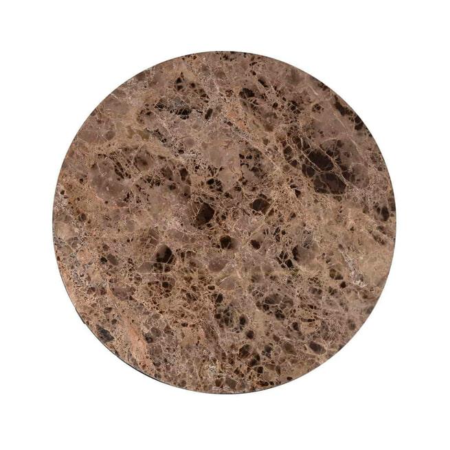 Richmond Salontafel 'Orion' Marmer en Staal
