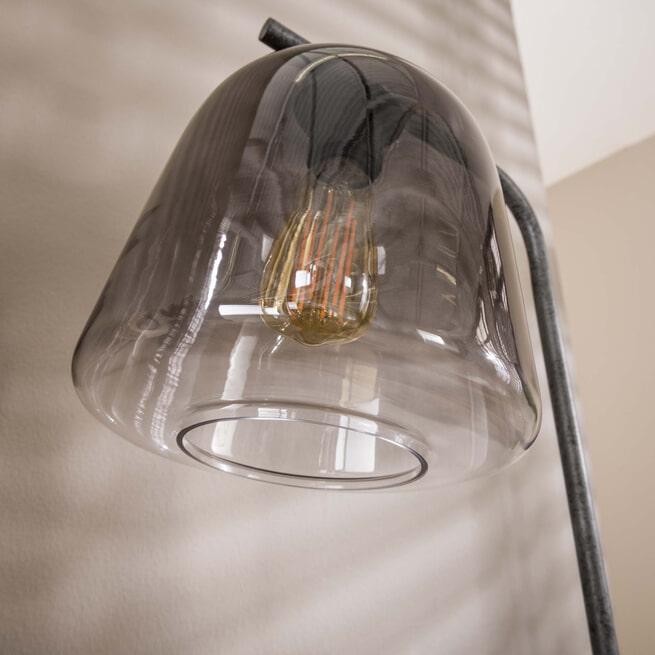 LifestyleFurn Tafellamp 'Grey Shaded' Ø23cm