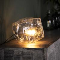 Tafellamp 'Sonia' Transparant, kleur Transparant glas