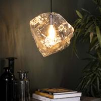 Hanglamp 'Sonia' Transparant, kleur Transparant glas