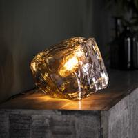 Tafellamp 'Sonia' Chroom, kleur Chromed glas