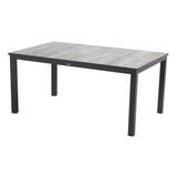 Hartman Tuintafel 'Comino' 163 x 105cm, kleur Zwart