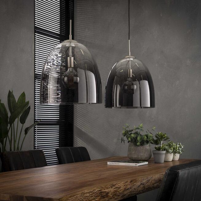 Hanglamp 'Julius' 2-lamps, Ø40cm