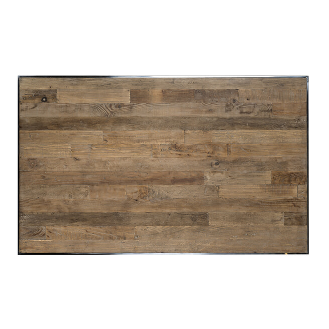 Richmond Salontafel 'Redmond' Hout en Staal, 130 x 80cm