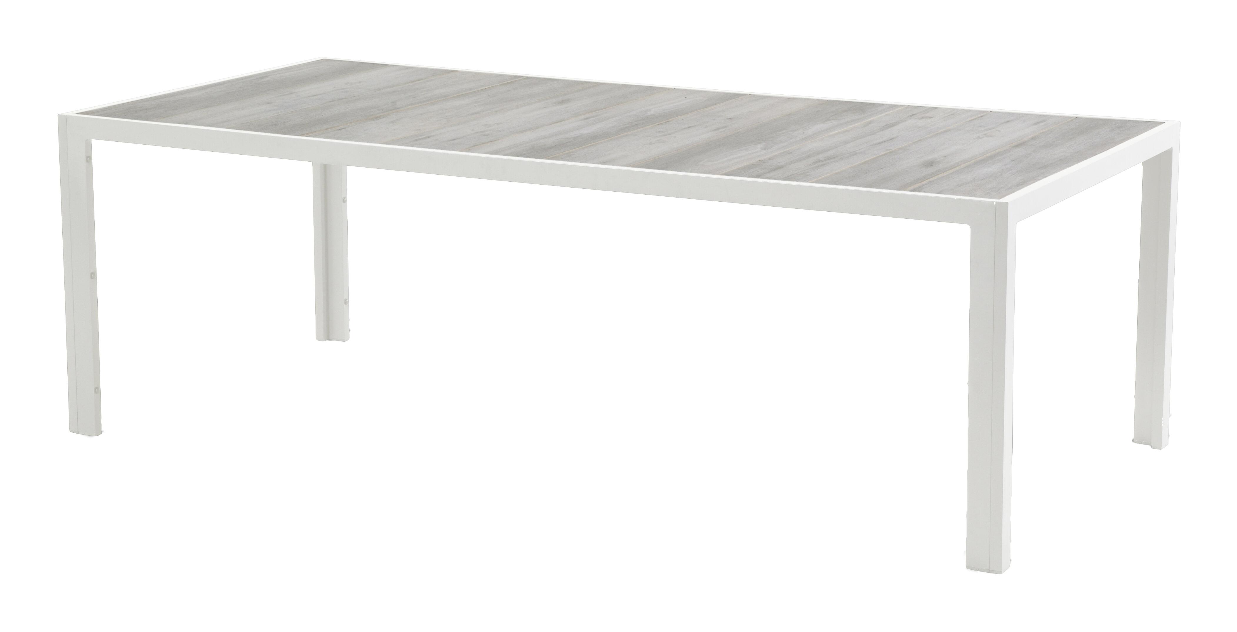 Hartman Tuintafel 'Tanger' 228 x 105cm, kleur Wit