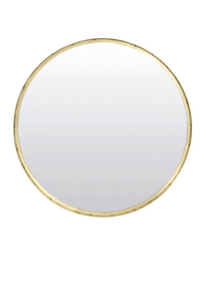 Light & Living Ronde Spiegel 'Bita' 60cm, oud brons