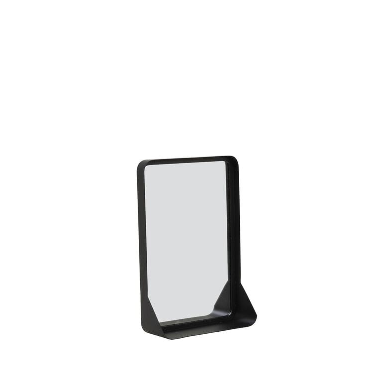 Light & Living Spiegel 'Sipau' kleur Mat Zwart