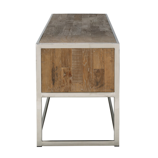 Richmond TV-meubel 'Maddox' Hout en Staal, 180cm