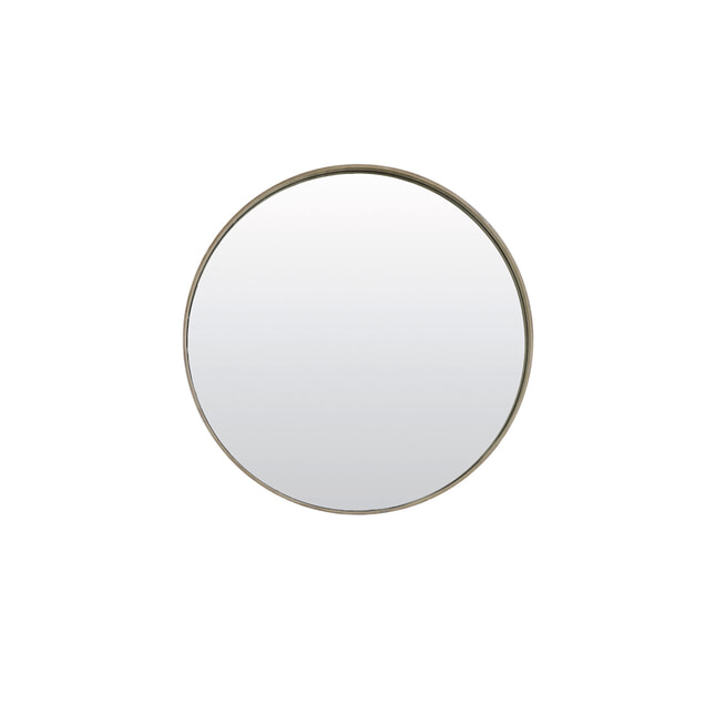 Light & Living Spiegel 'Vivien', hout licht bruin
