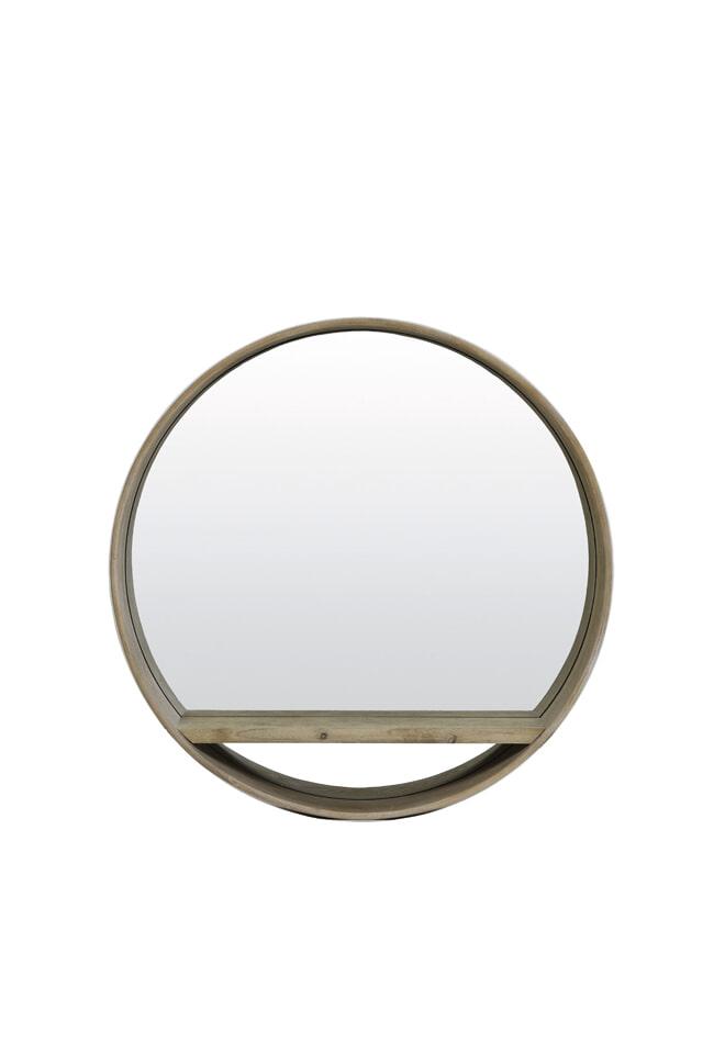 Light & Living Spiegel 'Viria', hout licht bruin