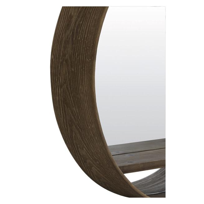 Light & Living Spiegel 'Viria' kleur donkerbruin