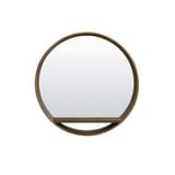 Light & Living Spiegel 'Viria', hout donker bruin, kleur