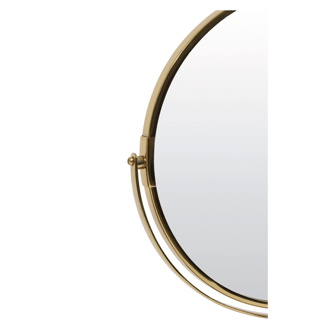 Light & Living Spiegel 'Riesco' op voet, kleur Groen