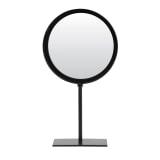 Light & Living Spiegel 'Luri' rond, mat zwart
