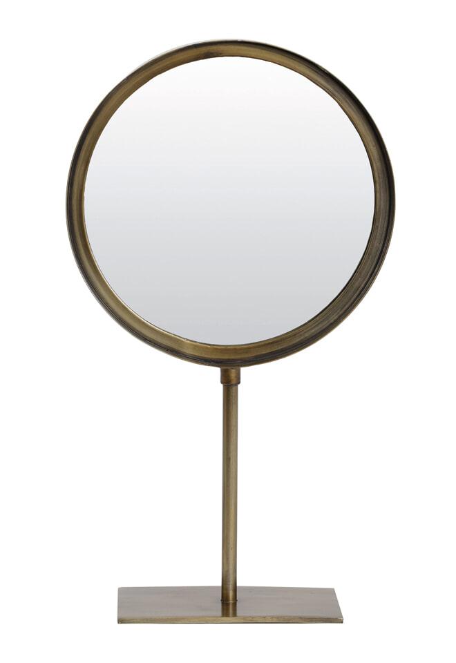 Light & Living Spiegel 'Luri' rond, antiek brons