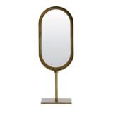 Light & Living Ovale Spiegel 'Lure' kleur Antiek Brons